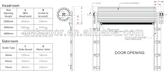 garage door details roll up garage doors specs roller door details cad