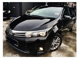 toyota corolla 2014 black. Beautiful Toyota 2014 Toyota Corolla Altis G Sedan Inside Black