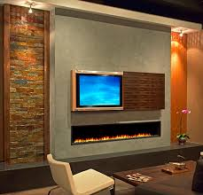 Small Picture media wall designs The HiddenScreen Media Cabinet is designed as
