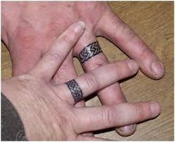 alternative to wedding ring. celtic knot wedding ring tattoos alternative to ?