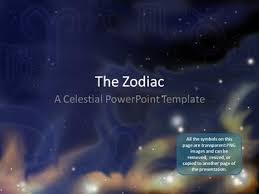 star ppt background zodiac stars a powerpoint template from presentermedia com
