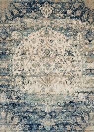 southwest rugs 7 ft round anastasia blue ivory rug lone star western decor