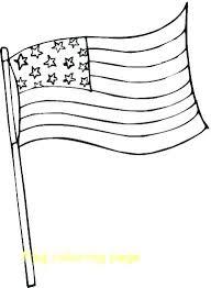 Usa Flag Coloring Page Tonyshume