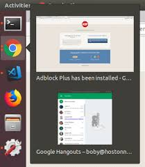 As you launch the app, you see it designed as a good messenger should be. Separate Google Hangout Icon In Ubuntu 18 04 20 04 Serverok