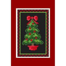 Gwiazda na szczycie drzewka i wycięta śnieżynka na dole choinka wzornik a5, a4, a3, a2, a1, a0 trudne wielokrotnego użytku 350 mikronów materiału. Cross Stitch Pattern Christmas Card Glowing Christmas Tree Coricamo