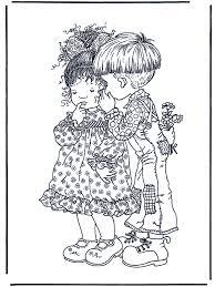 Jongen En Meisje Kleurplaten Sarah Kay