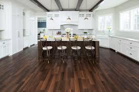 modern russet laminate in kitchen