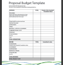 simple budget proposal template basic budget proposal format pdf budget templates