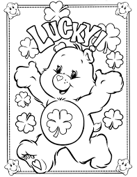 Small Picture carebearscoloringpages Care Bears Coloring Page 6 Crafty
