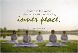 Finding Inner Peace Quotes Gorgeous Dalai Lama Peace In The World Relies On Individuals Findin Flickr