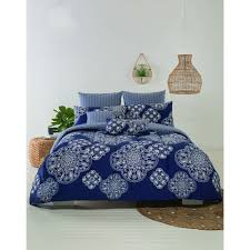 house home 3 piece comforter set sara blue