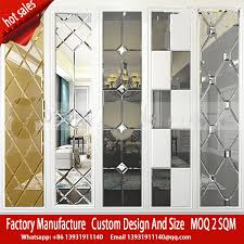 decorative wall spell puzzle acrylic colored mosaic mirror
