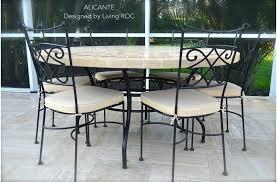 outdoor table chairs outdoor garden patio round mosaic marble dining table garden table chairs argos