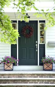 what color to paint front doorFront Doors  Grey Green Front Door Paint Front Porch Ideas And