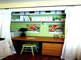 closet into office. Closet Desk Ideas Office Small  Design Into