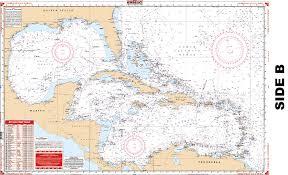 Mexico Navigation Charts Caribbean Gulf Of Mexico Nautical Chart