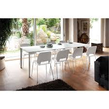 White Extension Dining Table Marcia Modern White Extension Dining Table Eurway