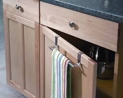 Kitchen Towel Rack Over The Cabinet Door Kitchen Towel Rack Monsterlune