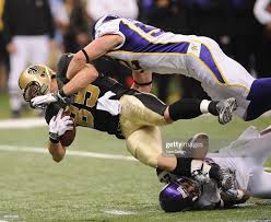 Dan Campbell of the New Orleans Saints ...