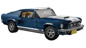 even dad should be enthralled with this 1960s mustang creator set introduced this february the set es with 1 471 pieces and realistic elements like