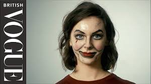 easy make up creepy doll british vogue