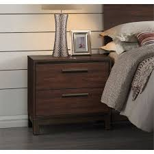 rustic furniture edmonton. Coaster Edmonton 2 Drawer Nightstand In Rustic Tobacco And Dark Bronze Furniture