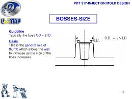 Injection Molding Design Rules Pdt 317 Injection Mold Design Ppt Download