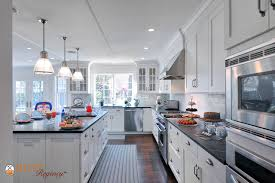 Long Island White Kitchen Featuring Rutt Regency Cabinetry Traditional  Kitchen