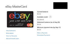 Get the ebay credit card card today. Another Ebay Mastercard Cli Myfico Forums 4223537
