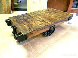 nutting cart coffee table factory cart coffee table railroad cart coffee table coffee cart table railroad