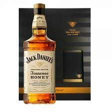 jack daniel s honey gift set with flask