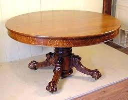 table leg round oak claw foot w lion heads legs feet split base dining image 1 home a antique furniture tables cut down claw foot