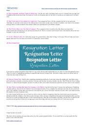 Tips For Resignation Letter Images - Letter Format Formal Sample