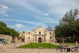 The Alamo San Antonio deserted during ...