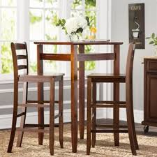 high top table and chairs kitchen. halo 3 piece pub table set high top and chairs kitchen s