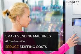 Smart Vending Machines Adorable Smart Vending Machines At Stadiums Can Reduce Staffing Costs