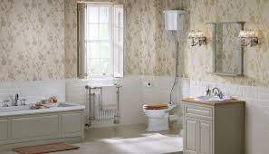 beautiful traditional bathrooms. traditional bathroom with wallpaper and wainscoting : a beautiful bathrooms g