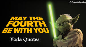 Famous Yoda Quotes Enchanting Famous Master Yoda Quotes Sayings