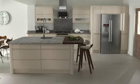 Beige Kitchen Remo Contemporary Curved Gloss Kitchen In Beige 6297 by guidejewelry.us