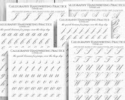 How To Practice Penmanship Ultimate Penmanship Complete Printable Handwriting Practice Sheets Cursive Print Calligraphy Dot Grid Lined A4 Letter Size Numbers