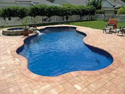 inground pools. Coronado Freeform Inground Fiberglass Pool 5 Pools