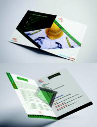 entry 4 for design a brochure and visiting card