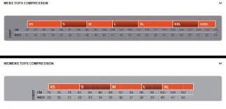 2xu Compression Socks Size Chart Elite Short Sleeve Compression Top Women 2xu Wa3015a