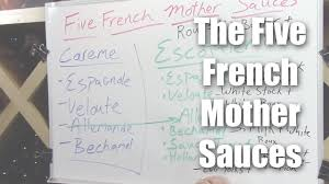 Understanding The Five French Mother Sauces A Brief Overview