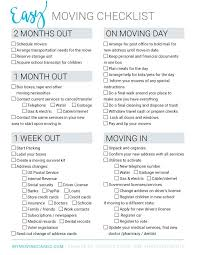 Office Move Checklist Excel Moving To Do List Template Moving