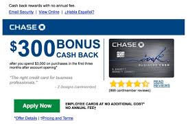 email offer im way over 5 24 but chase just sent me a card offer by email