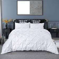 luxury pure color bedding set modern