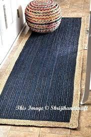 rag rug runner jute braided meditation mat bohemian cotton runners kitchen charming hallway ru