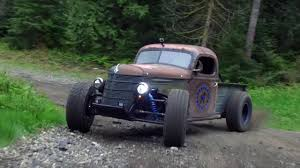 check out this rat rod trophy truck top gear