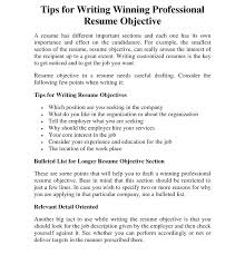 tips on how to write a resume download resume objectives for it  professionals resume objective writing